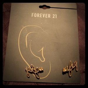 Wifey earrings